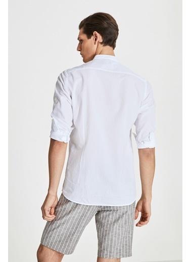 Tween Slim Fit Gömlek Beyaz